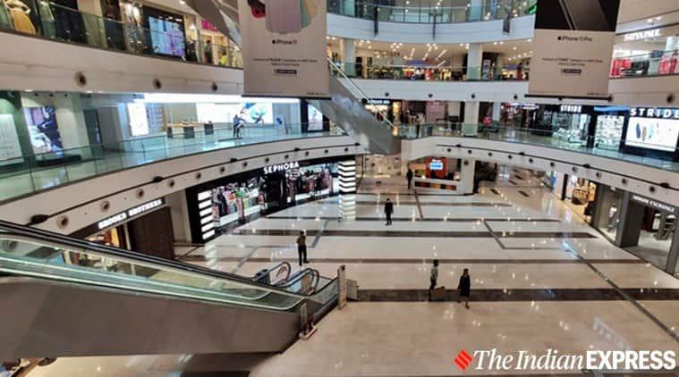 Coronavirus India, India coronavirus shutdown, Dlf mall of india noida coronavirus, coronavirus lockdown india, Mumbai coronavirus latest news, indian express news