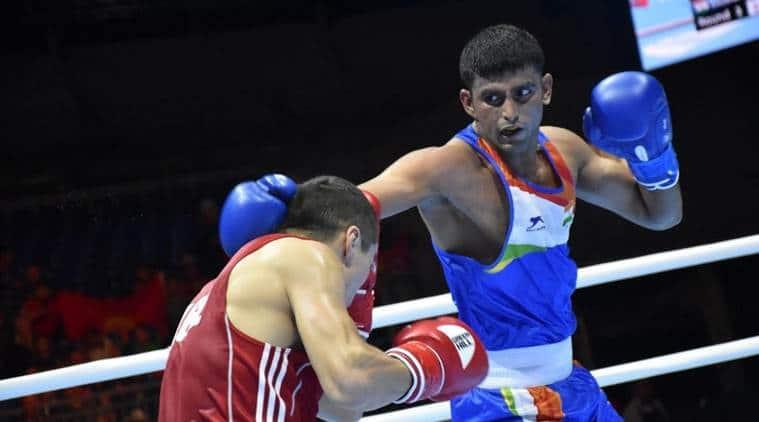 Manish Kaushik, boxer Manish Kaushik, Indian boxers for Tokyo 2020, Manish Kaushik Tokyo 2020
