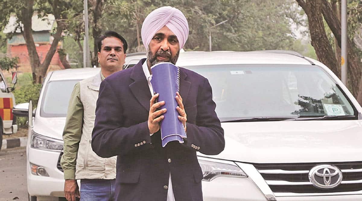 Manpreet Singh Badal, Punjab budget, Hoshiarpur news, punjab news, indian express news