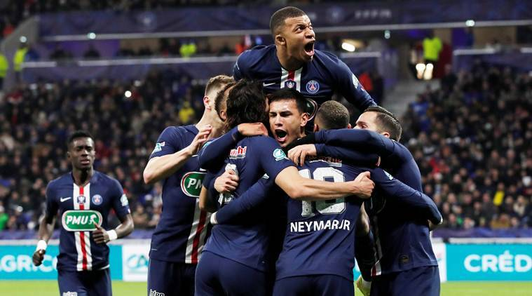 Kylian Mbappe, Kylian Mbappe hattrick, PSG vs Lyon, PSG beat Lyon, French Cup semifinal, French Cup 2020, football news