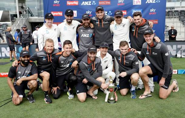 New Zealand India Cricket