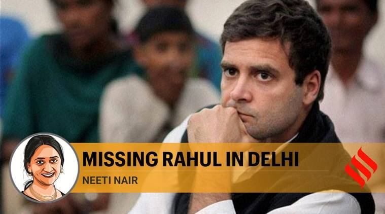 Rahul Gandhi, who lives not far from Shaheen Bagh or northeast Delhi, has not been seen