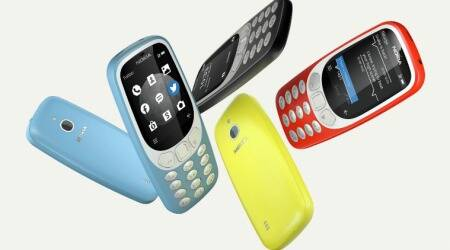 retro phones, nokia 3310, nokia 2720, nokia 8110, motorola razr, palm phone