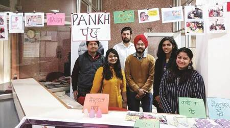 project pankh, green pads, sustainable living, indian express news