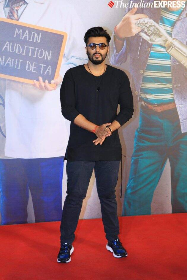 arjun kapoor at kaamyaab screening
