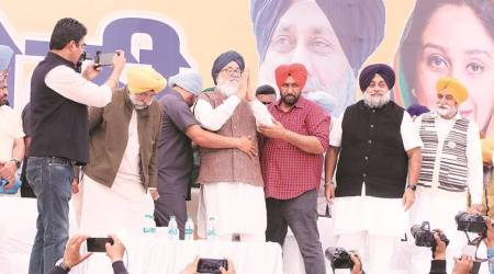 Shiromani Akali Dal, Parkash Singh Badal, Badal on delhi violence, Chandigarh news, punjab news, indian express news