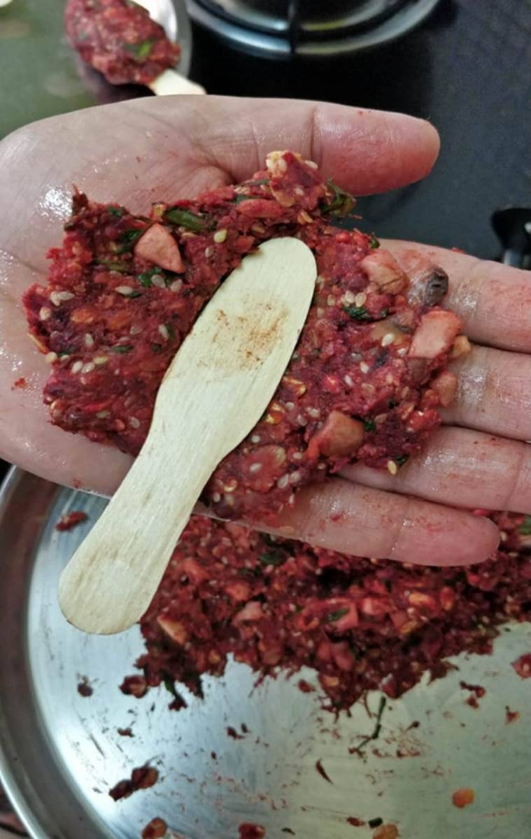 recipe, healthy recipe, health recipe, Beetroot-Mushroom Chaaps, healthy eating, recipe, health, food, indian express, indian express news