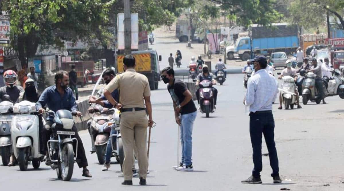 Pune Police, Pune city police, coronavirus Pune, coronavirus cases in Pune, Pune coronavirus cases, Pune police coronavirus, Pune lockdown, Pune news, city news, Indian Express