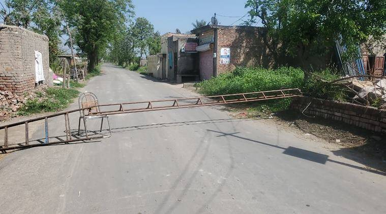 coronavirus Punjab, Punjab coronavirus, coronavirus in Punjab village, Punjab village quarantine, indian express news