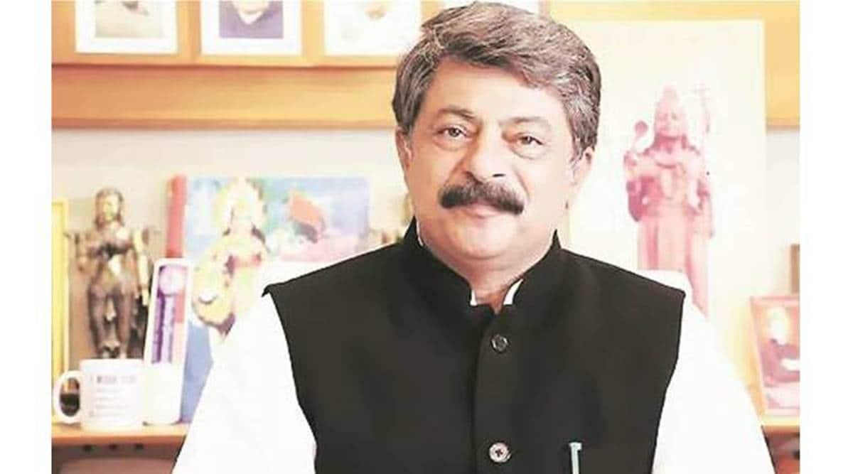 Gujarat congress MLA resign, RS polls, Assembly Speaker, Rajendra Trivedi, indian express news