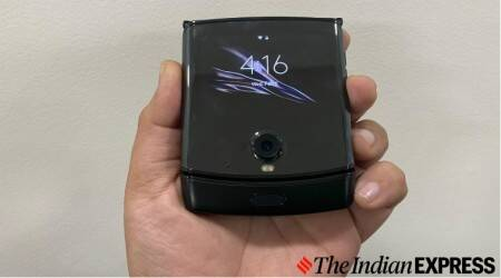 Motorola Razr, Moto Razr, Motorola Razr foldable phone, Moto Razr vs Galaxy Z Flip, Moto Razr review, Moto Razr price in India
