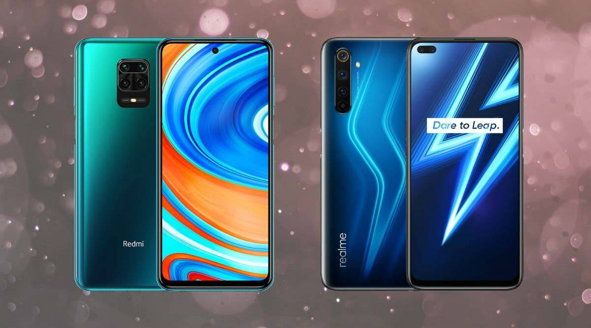 How Redmi S Note 9 Pro Max Compares With The Realme 6 Pro Technology News The Indian Express