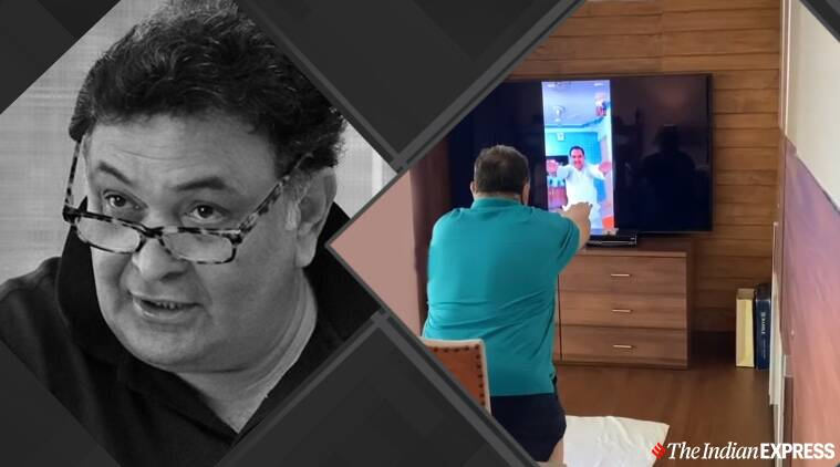 Rishi Kapoor S Virtual Yoga Session Is Winning Hearts Watch Video Lifestyle News The Indian Express