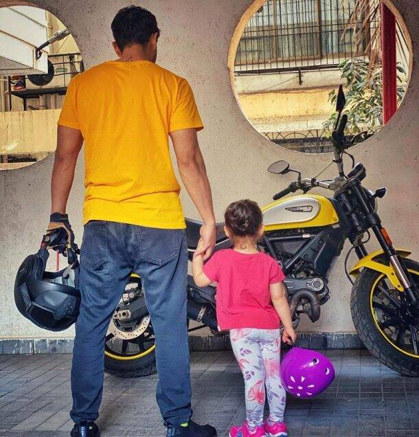 kunal kemmu with daughter