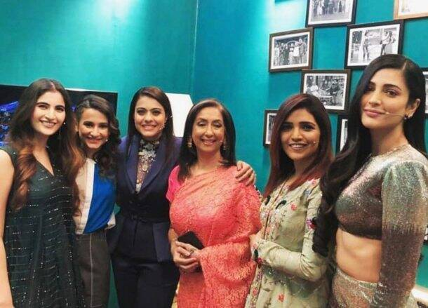 Devi promotions with shruti haasan, kajal