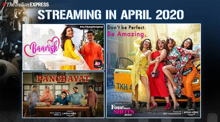 Streaming in April: Four More Shots Please 2, Panchayat, Yours Sincerely Kanan Gill and more