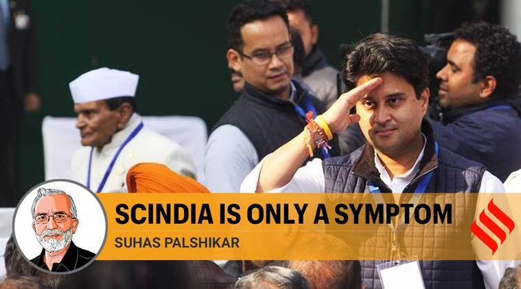 Scindia's move to BJP needs to be seen as the routine task of maximising political gains