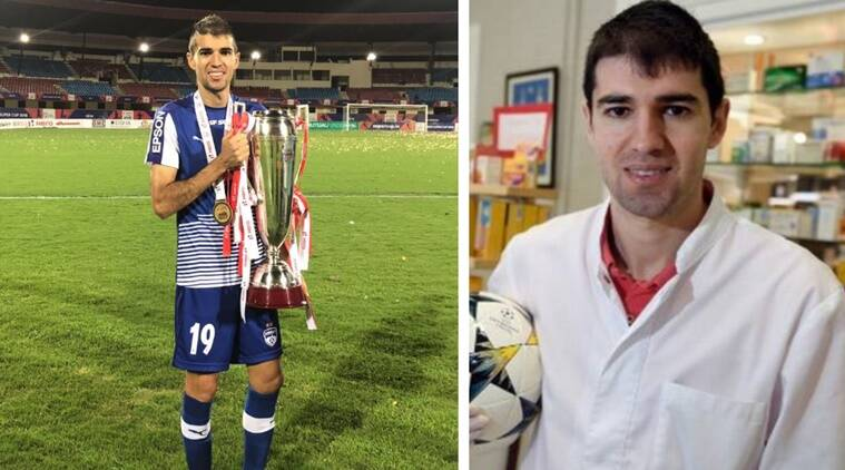 La Liga footballer who played in India ditches boots, joins front line of virus battle