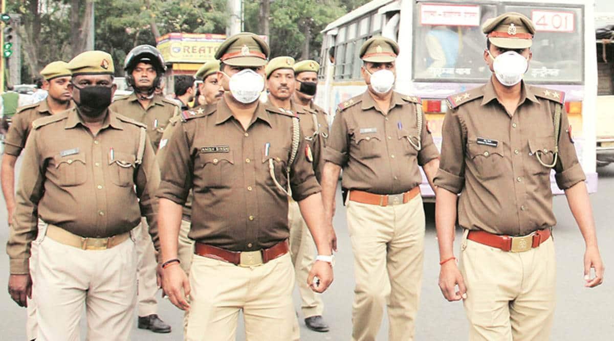 coronavirus, coronavirus UP, India lockdown, coronavirus India lockdown, UP Police, Lucknow news, city news, Indian Express