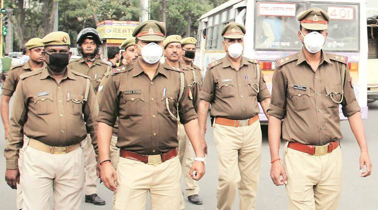 coronavirus, coronavirus UP, India lockdown, coronavirus India lockdown, UP Police, Lucknow news, city news, Indian Express
