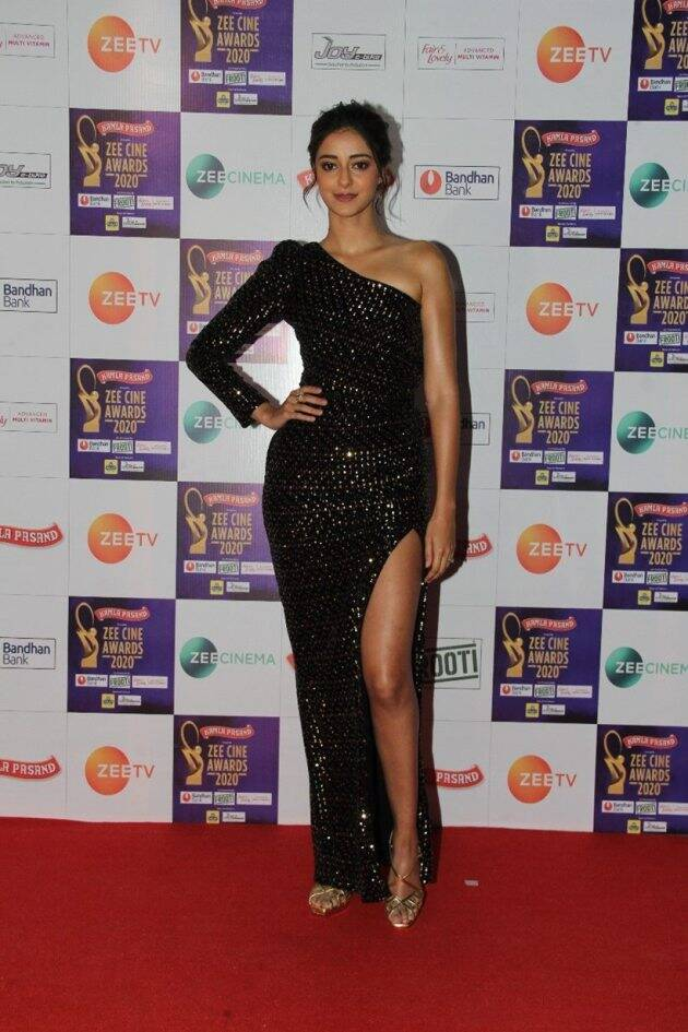 ananya panday zee cine awards 2020