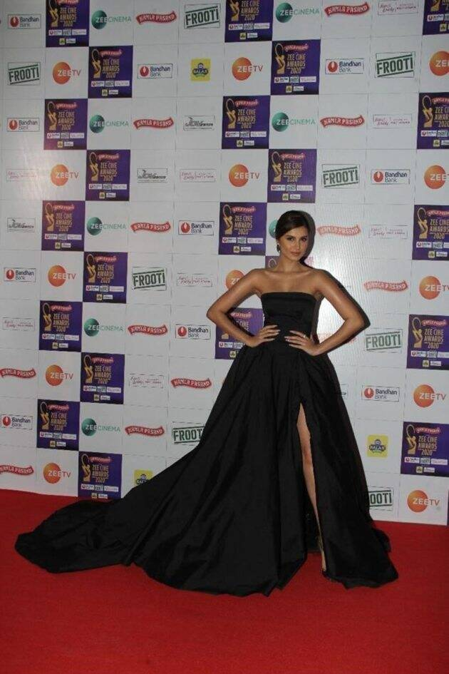 tara sutaria at zee cine awards 2020