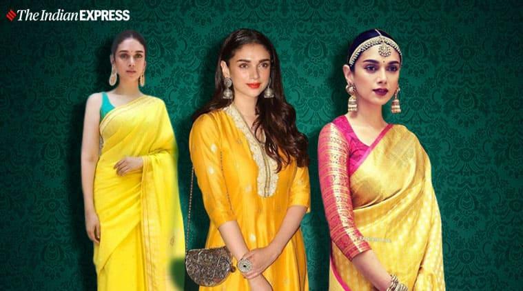 Aditi Rao Hydari, Aditi Rao Hydari fashion, Aditi Rao Hydari ethnic, Aditi Rao Hydari pictures, Aditi Rao Hydari movies, indian express news
