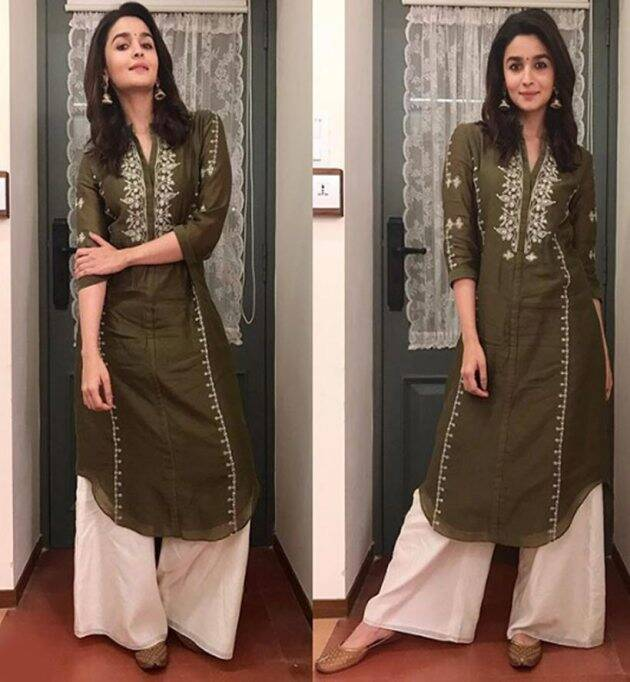alia bhatt, alia bhatt photos, alia bhatt ethnic wear, alia bhatt indian express lifestyle