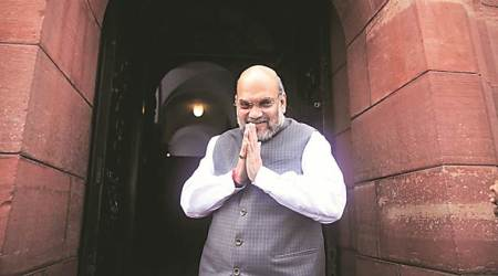 amit shah, amit shah on NPR, amit shah on caa, amit shah on nrc, amit shah in parliament on caa, indian express news