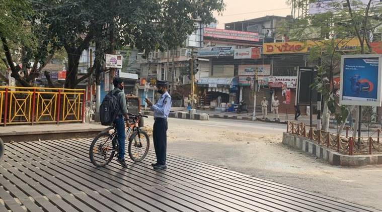 Assam: Stones pelted at policemen for enforcing lockdown, 12 arrested