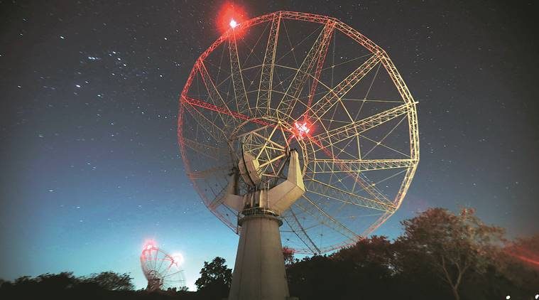 Giant Metrewave Radio Telescope, GMRT Pune, transient celestial object, Pune news, indian express news