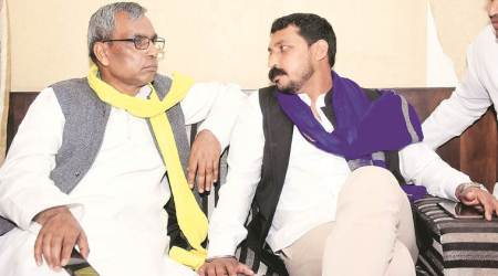 Bhim Army, Chandrashekhar Azad, Bhim Army political party, Bhim Army uttar pradesh elections, UP polls, Suheldev Bhartiya Samaj Party, Bhim Army-SBSP alliance, Om Prakash Rajbhar