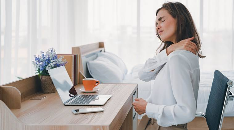 Suffering from back pain? Here's what doctors advise during work-from-home
