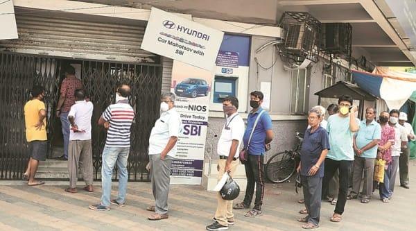 coronavirus, coronavirus outbreak, coronavirus lockdown, coronavirus india lockdown, coronavirus in kolkata, kolkata banks, indian express news
