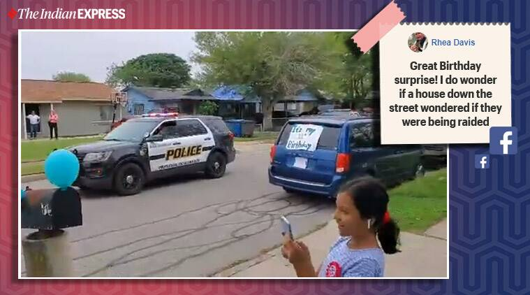 How the San Antonio police made this girl's birthday special amid lockdown