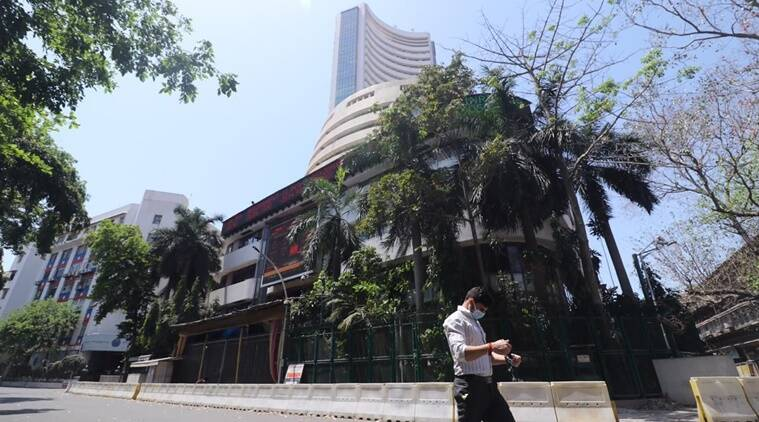 Sensex soars 1,266 points, Nifty settles above 9,100-mark on global cues