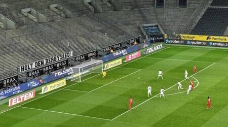 matches in empty stadiums, spectators less stands, No cheers, no boos, no chants or whistles. No kids seeking autographs
