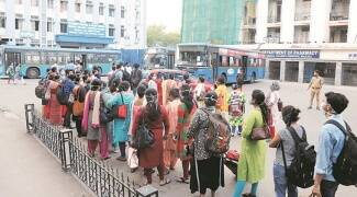 Special bus services to transport essentials, 453 held