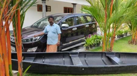 Monsoon months away, fearful Kerala prepares: Canoes at home