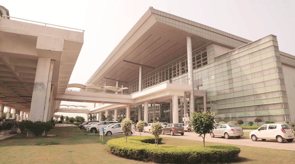 Chandigarh International Airport, Indigo airlines, Chandigarh news, Punjab news, Indian express news