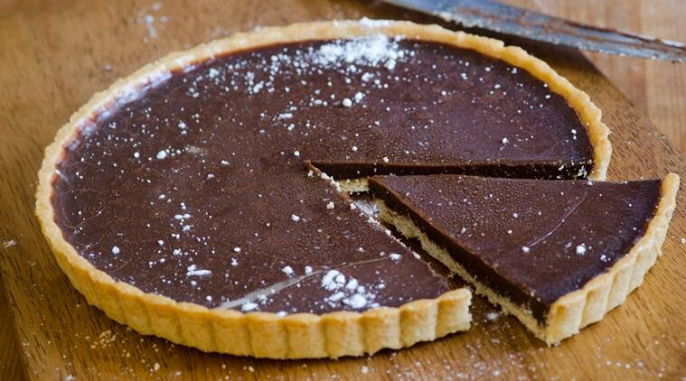 Make your favourite chocolate tart sans oven; check it out here