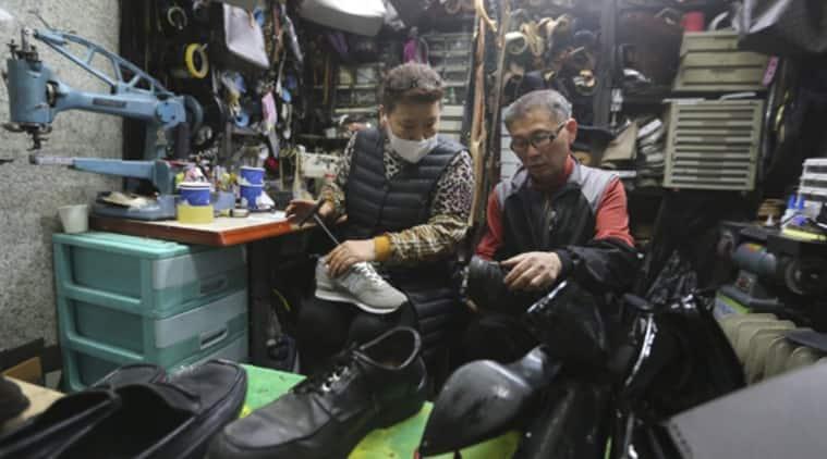 South Korea, shoe cobbler, coronavirus donations, South Korea news, South Korea coronavirus, Coronavirus pandemic, Covid-19, Trending news, Indian Express news