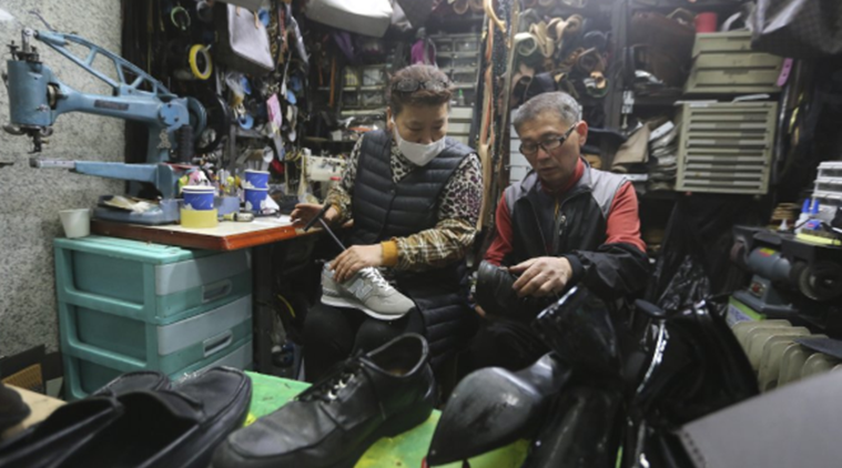 South Korea shoe cobbler donates for needy amid coronavirus