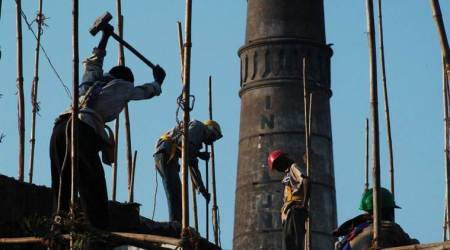 raipur workers injured, molten steel, raipur factory incident, raipur news, indian express