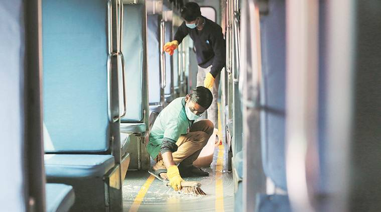 Indian Railways, Indian Railways coronavirus, coronavirus Indian Railways, coronavirus in India, coronavirus cases in India, India news, Indian Express