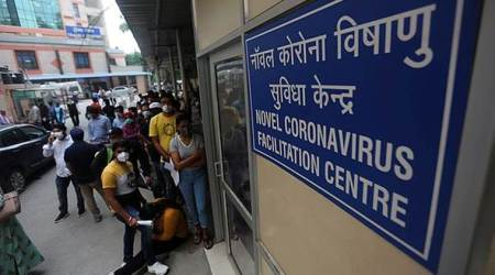 coronavirus, coronavirus cases india, gujarat coronavirus cases, sadananda gowda, vijay rupani, gujarat news, latest news, indian express