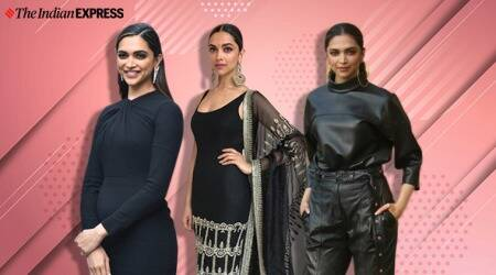 Deepika Padukone dons black a lot and we are not complaining