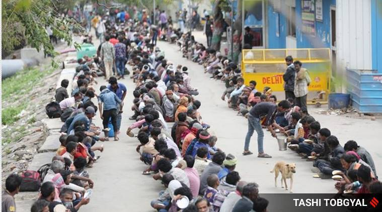 Gurgaon e-retailers allowed, gurgaon online delivery, coronavirus lockdown, COVID-19, coronavirus latest updates, delhi news, indian express