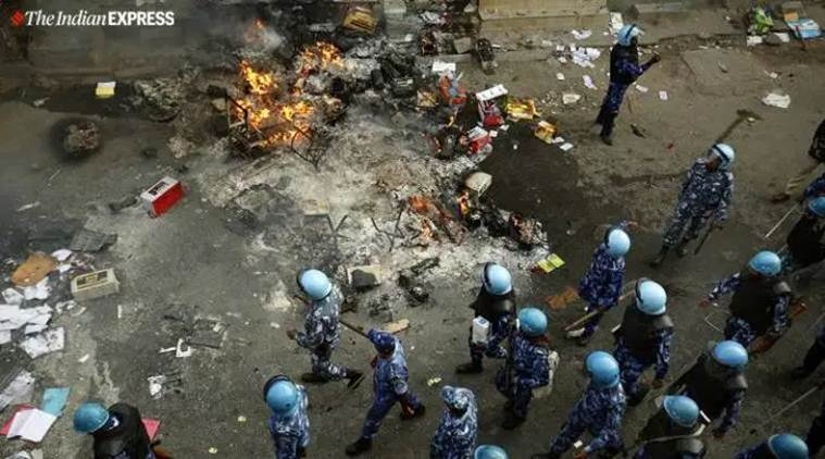 NE delhi riots: 'Rioters cut power before killing man'