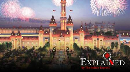 Russia grand theme park, United States Disneyland, Russia Ostrov Mechty, Russia Dream Island, Russia Dream Island opens, Russia Dream Island poictures, Russia Dream Island ticket, indian express